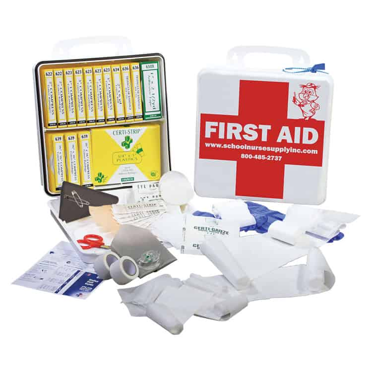 The Need For An Individual First Aid Kit For School