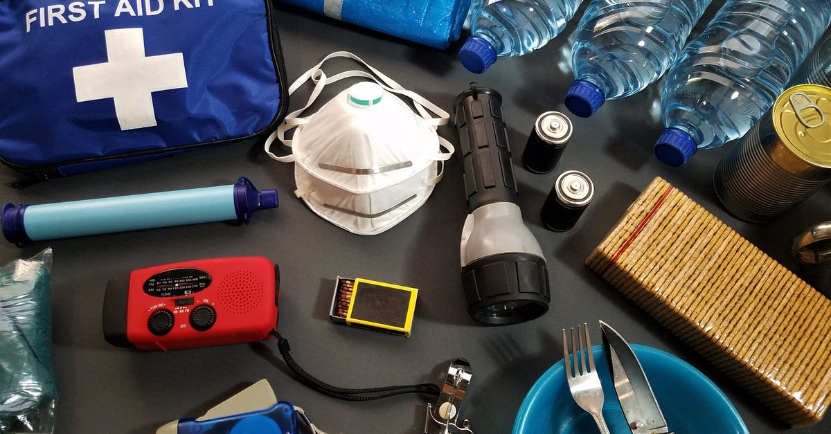 backpacking first aid kit